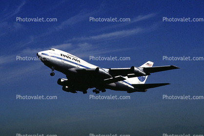 N537PA, Boeing 747SP-21, Pan American World Airways, 747SP, Clipper High Flyer