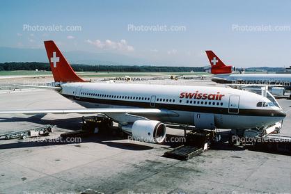 HB-IPB, SwissAir, Airbus A310-221, JT9D-7R4E, JT9D Images