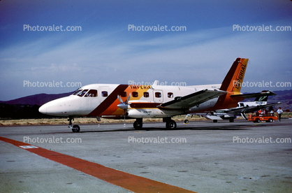 N731A, Imperial Airways, Embraer EMB-110P1 Bandeirante,