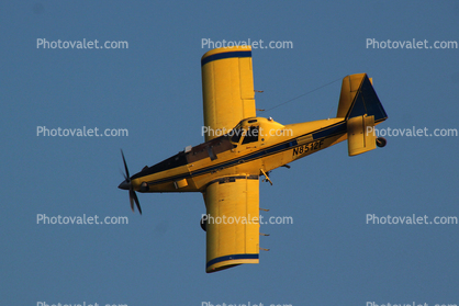 N8512F, Air Tractor AT-802, turbo prop, turboprop crop duster