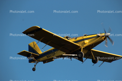 N8512F, Air Tractor AT-802, turboprop crop duster, turbo prop