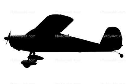 Add to Lightbox Add to Cart E-Postcard Buy PrintCessna Airplane Silhouette
