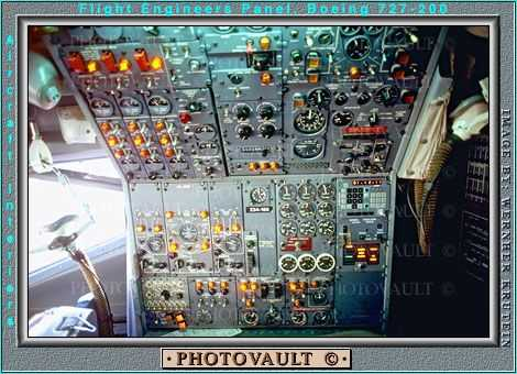 Engineers Panel, PSA, Pacific Southwest Airlines, Boeing 727