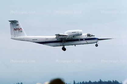 N715NA, C8-A Buffalo, QSRA, Quiet Short-haul Research Aircraft, NASA, 715, Abbotsford International Airport YXX
