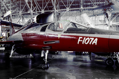 North American YF-107A, Fighter-bomber, USAF, United States Air Force Museum