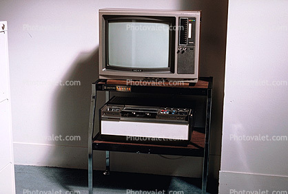 Television, TV, VCR