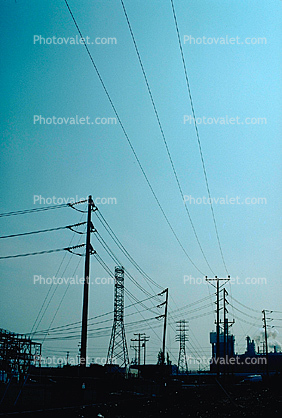 Transmission Towers, Pylons, Transmission Lines