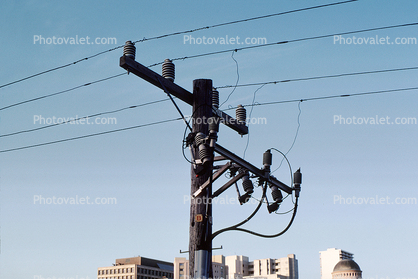 Transmission Lines, Powerline, Powerpole, Insulators