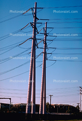 Tower, Transmission Lines, Powerline, Powerpole