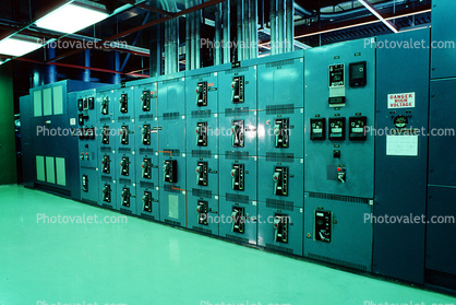Interior, Inside, Indoors, Dials, Instruments, Panel, Control Room, Wells Dam