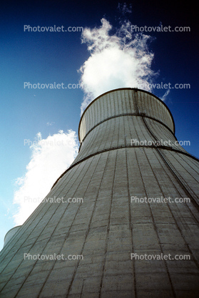 Cooling Towers, Rancho Seco Nuclear Power Plant