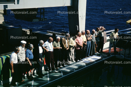 crossing the date line ceremony, 1950's