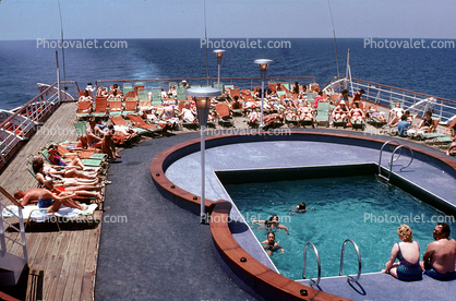 SS Fairwind, Swimming Pool, IMO: 5347245, Ocean Liner