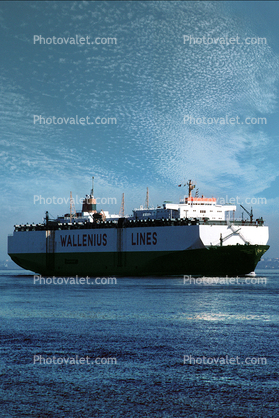Tosca, Vehicle Carrier, Wallenius Lines, RoRo, Ro-Ro, IMO: 7708833