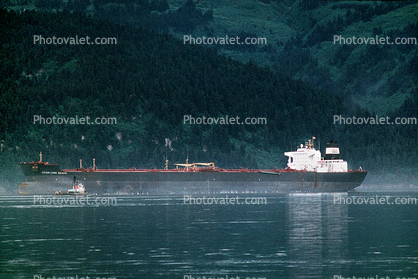 Exxon Long Beach, Oil Tanker, Alaska Pipeline Terminus, Valdez, Harbor, IMO: 8414532