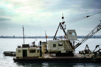 Crane, Army Corps of Engineers, Huron, Michigan, 1950's
