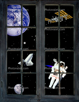 Window into Space