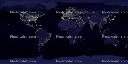 The whole earth at night nighttime city lights world map images the whole earth at night nighttime city lights world map gumiabroncs Choice Image