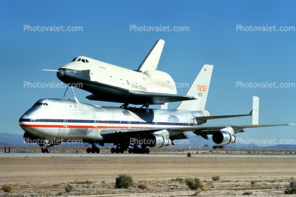 Boeing 747, Space Shuttle, Shuttle Carrier Aircraft (SCA) Space ...
