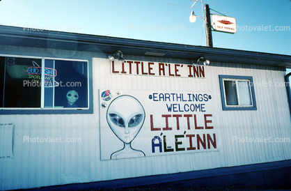 Little a le inn t shop extraterrestrial highway near area 51