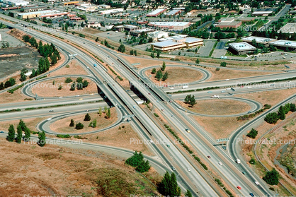 Cloverleaf, Interstate Highway I-680, I-580