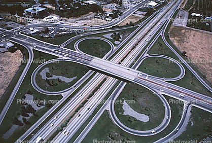 Cloverleaf Interchange, Interstate Highway I-580