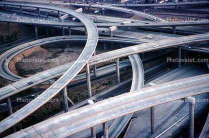 Stack Interchange, Interstate Highway I-110, Freeway