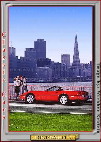 Corvette Stingray, Chevy, Chevrolette, Transamerica Pyramid, Chevrolet, automobile