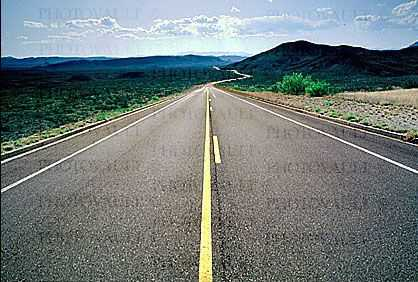 Vanishing Point, Road, Roadway, Highway 118