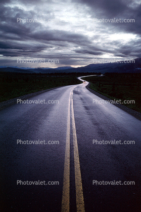 S-Curve, Road, Roadway, Highway