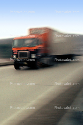 moving truck, Semi-trailer truck, Semi