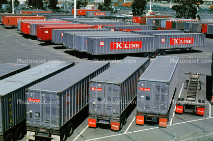 K-Line piggy-back, intermodal