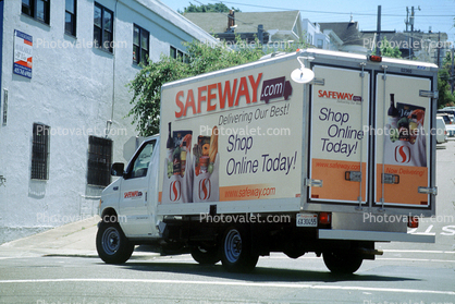 grocery delivery, Safeway online, Potrero Hill, Central Valley