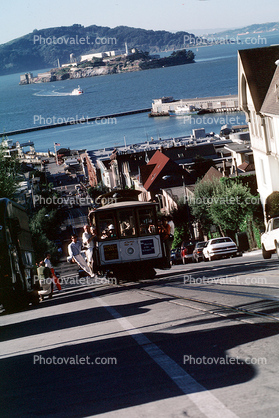 27, The Hyde Street Incline, Steep, Russian Hill