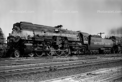 Southern Pacific, SP 4305, 4-8-2, Mt-1