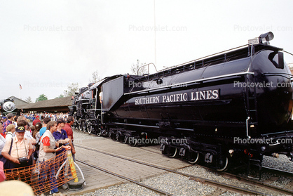 Southern Pacific Lines, Water Tender, X2472, Southern