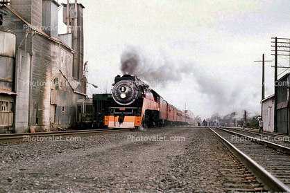 SP 4449, GS-4 class Steam Locomotive, 4-8-4, Southern Pacific Daylight Special, 1950's