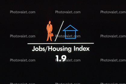 Jobs Housing Index, title