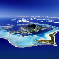 Tahiti from the Air