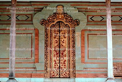 Ornate Door, Doorway, Entrance, opulant, Island of Bali
