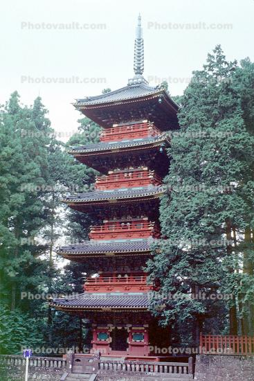 Toshogu Shrine, Nikko, Pagoda