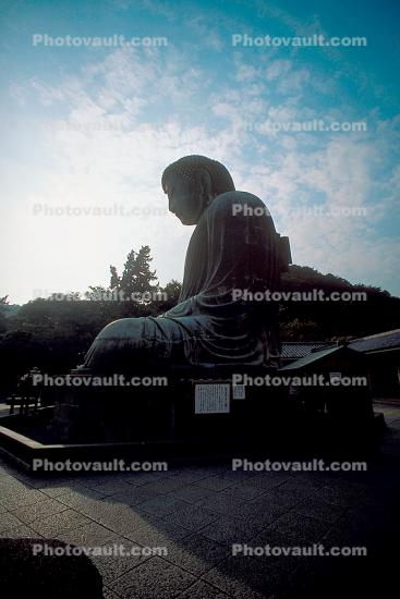 The Buddha at Kamakura, Kanagawa Prefecture, Japan, Statue