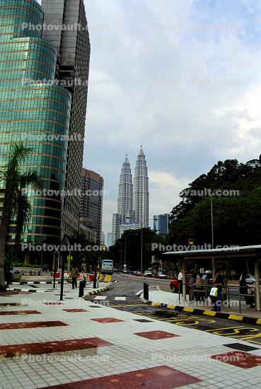 Petronas Twin Towers, Commercial offices, tourist attraction, Jalan Ampang