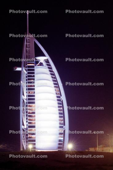 Burj Al Arab, Tower of the Arabs, Hotel, Dubai, UAE, United Arab Emirates