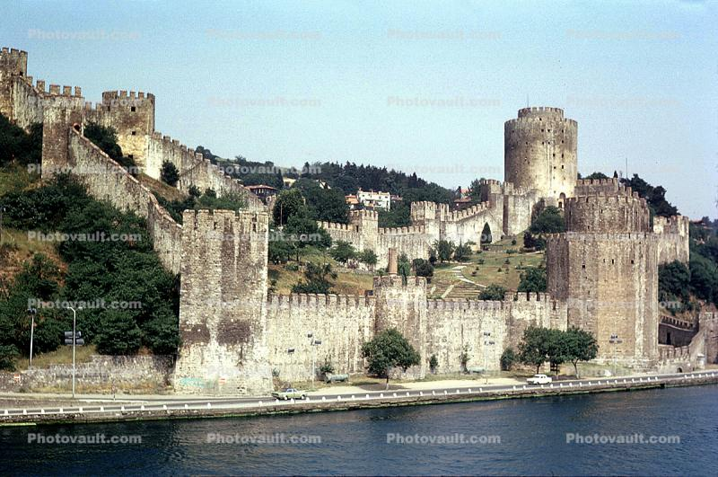 Fortress, Hill, Towers, Bosporus Fort, Istanbul