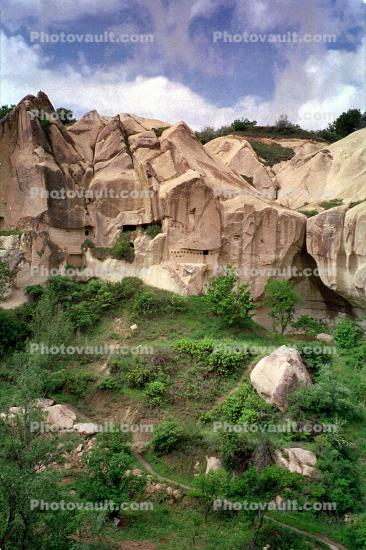 Cappadocia (Kapadokya), Cliff Dwellings, Cliff-hanging Architecture