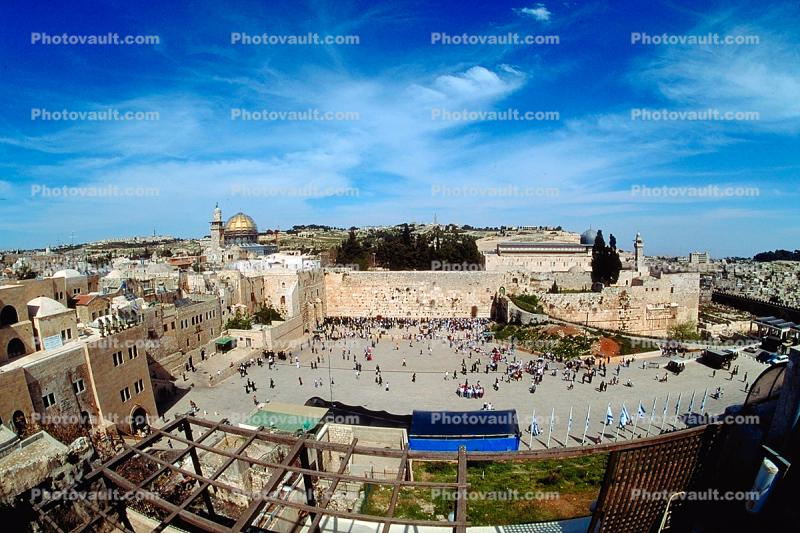 The Old City, Western Wall, Wailing Wall or Kotel, Jerusalem