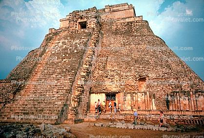 Pyramid of the Magician, Uxmal, 1950s
