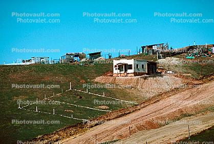 Hill on Colonia Flores Magone, Slum, Housing, homes, house, Building