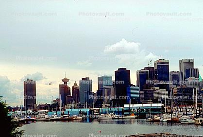 Smallcraft Harbor, Skyline, Office buildings, Cityscape, Vancouver